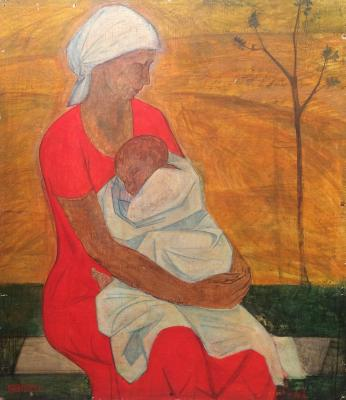 "Obrynba O. N. ""Motherhood."""