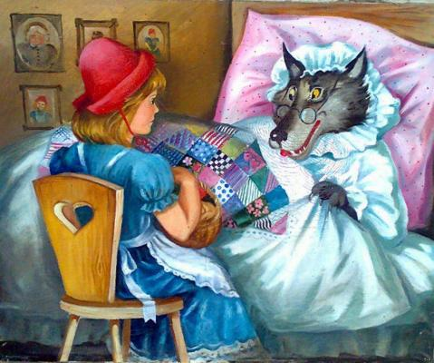 "Chevereva I. ""Little Red Riding Hood and the Gray Wolf ."""