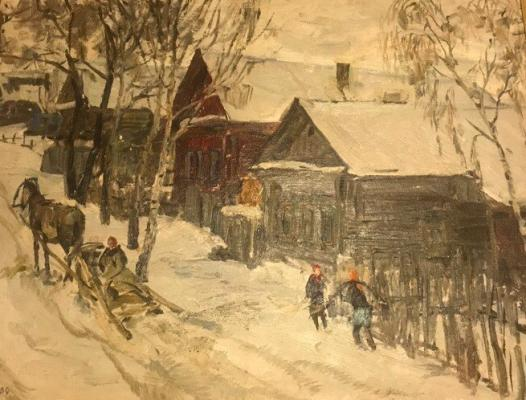 "Nechitaylo Dmitry Vasilyevich - The village of ""Red."""
