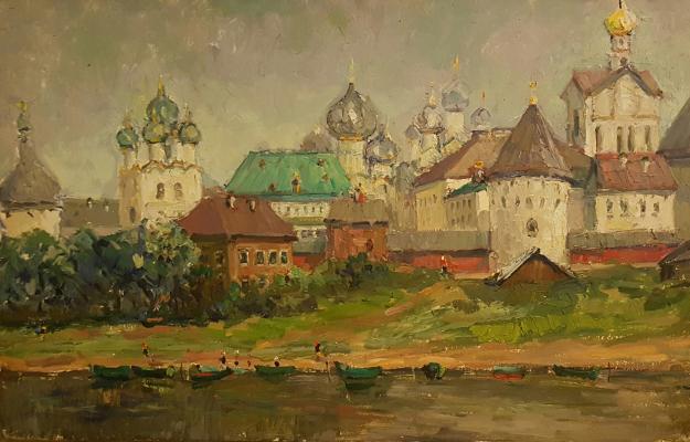 """Tretyakov Y. I. """"Rostov. Lake."""""""