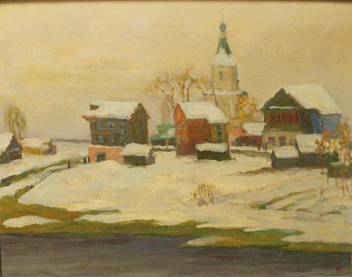 "Fedulova T. A. ""First snow."""