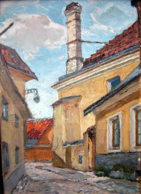 "Kuznetsov-Volzhsky M. A. ""Talin . View of Upper Town . """
