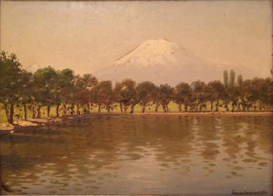 "Bashindzhagyan G. Z. ""Ararat mountain view."""