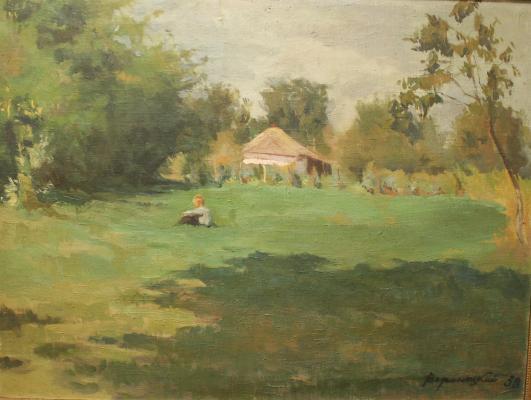 "Voronetsky B. V. ""In the meadow."""