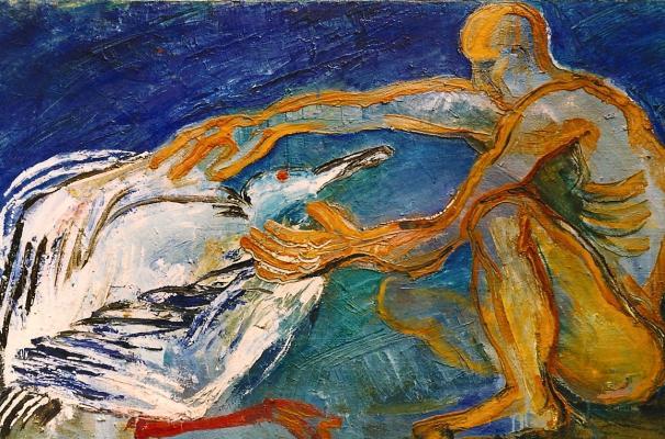 """Komarova V. """"Man and bird"""""""