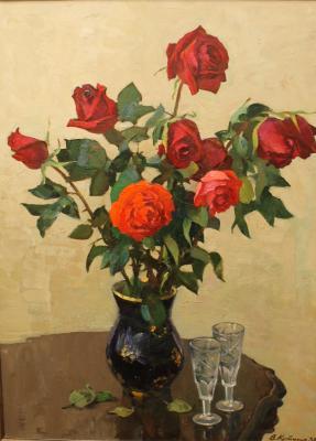 Кутилин Владимир Александрович. Розы.