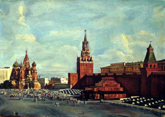 "Rozhnev V. V. ""Red Square."""