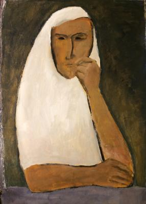 """Barvenko V. P. """"Mountain Girl headdress."""""""