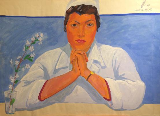 "Barvenko V. P. ""Doctor Maria Yampolsky. Nurek. March."""