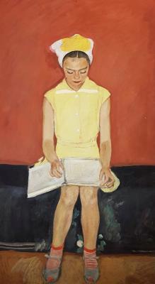 Барвенко Виктор Петрович. Девочка, читающая книгу