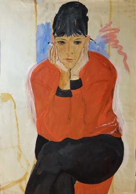 Барвенко Виктор Петрович. Девушка с сигаретой