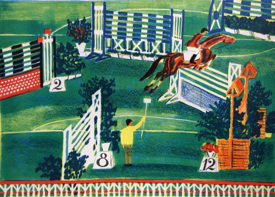 Дувидов Виктор Аронович. На Олимпиаде -80.