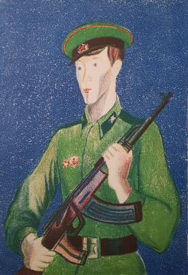 Дувидов Виктор Аронович. Солдат