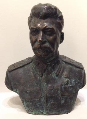 "Kerbel L. Y. ""IV bust Stalin."""