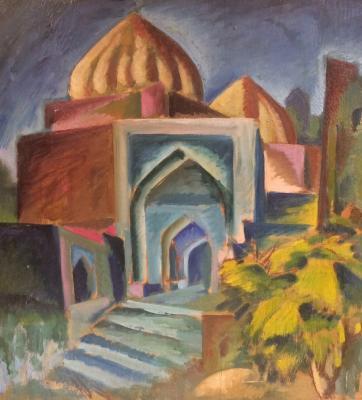 "Lopukhin A. Y. ""Samarkand. Shahi Zinda."""