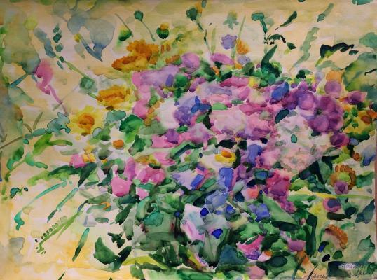 """Khryakov A. F. """"Wildflowers."""""""