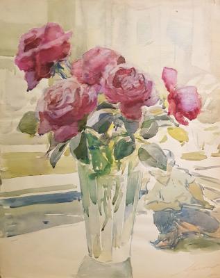 Хряков Александр Федорович. Розы и фарфор