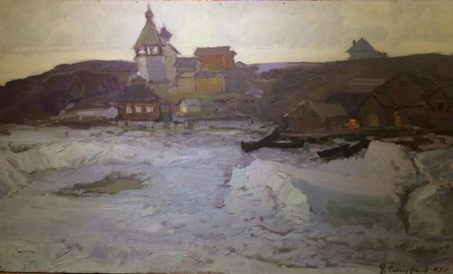 """Smirnov Y. V. """"Spring in the Arctic."""""""