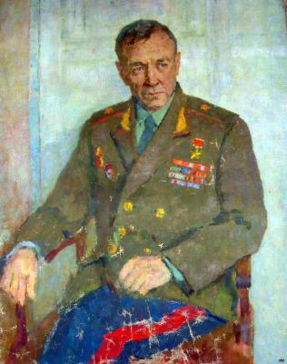 "Tseytlin G. I. ""Portrait of General ."""