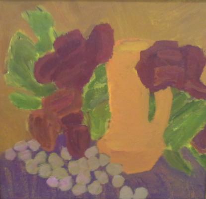 """Dynnikov """"Still life with flowers."""""""