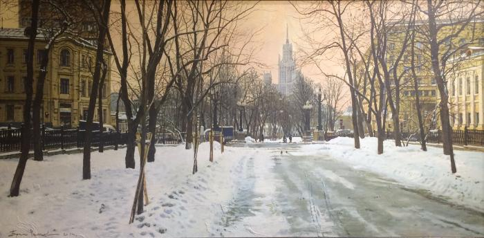 "Chizhov B. ""Moscow. Yauza Boulevard."""