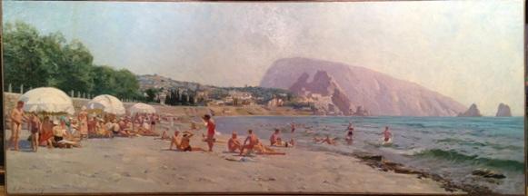 """Aksenov K. N. """"Beach ."""""""