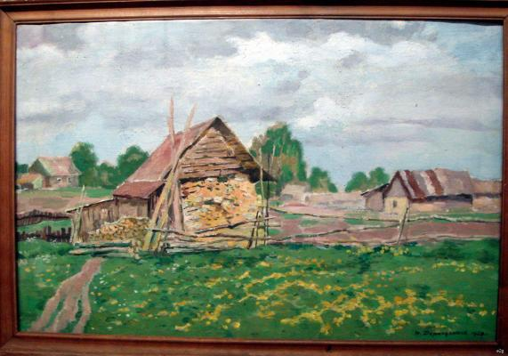 """Dormidontov N. I. """"A small shed ."""""""