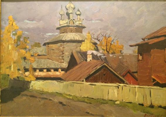 "Stozharov V. F. ""Kostroma. Indian summer."""