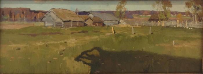 Стожаров Владимир Федорович. Деревня Хорупино