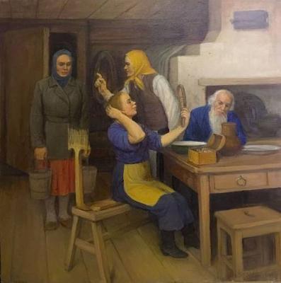 """Solomin N. K. """"Peasant life."""""""