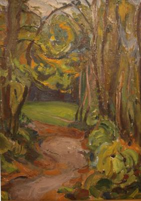 """Ashkenazi I. M. """"Forest Trail."""""""