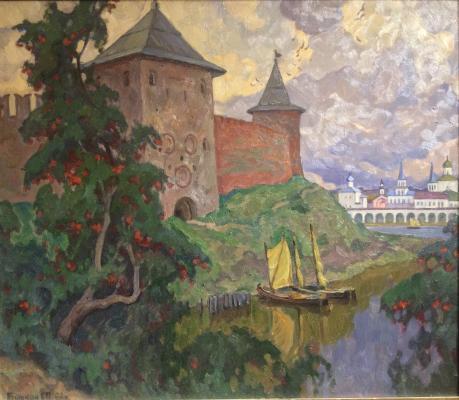 "Bitkin Y. P. ""Novgorod. Kremlin."""