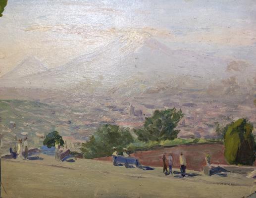 """Gagashyan A. O. """"View of Ararat."""""""