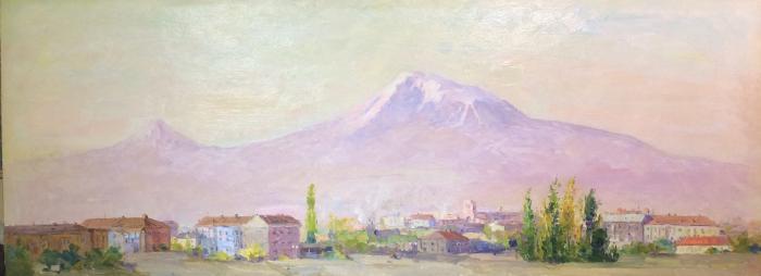 """Yesayan K. A. """"Ararat from my window."""""""