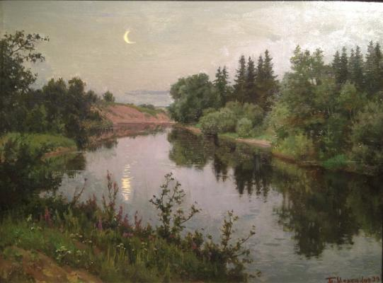 "Shcherbakov B. V. ""Month over the river ."""