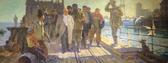 "Sakhanov A. I. ""Nikita Khrushchev at the Petroleum in Baku."""