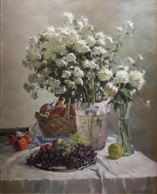 Саханов Александр Иванович. Цветы и фрукты