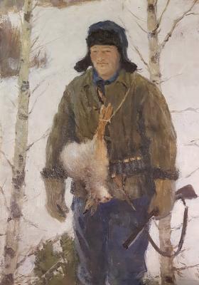 """Александр Иванович Саханов """"Охотник"""""""