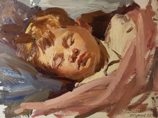 Саханов Александр Иванович. Детский сон