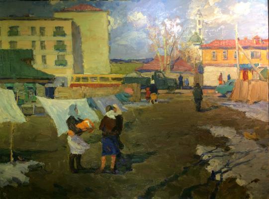 """Vidusov V. F. """"Noginsk. Spring."""""""