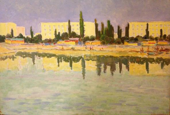 """Karakhan N. G. """"Landscape."""""""