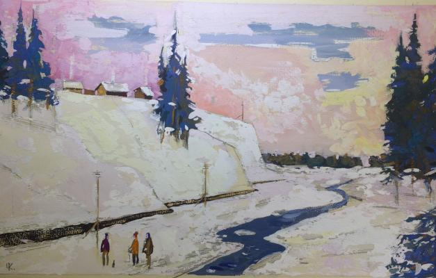 "Charugin K. P. ""Winter in the Urals."""