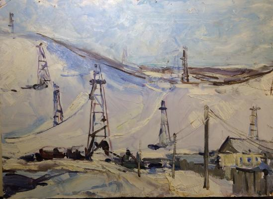 Charugin Konstantin Petrovich - Oil. Urals.