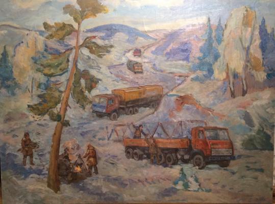 Zakharyan Gurgen Arutyunovich - Roads of Siberia.