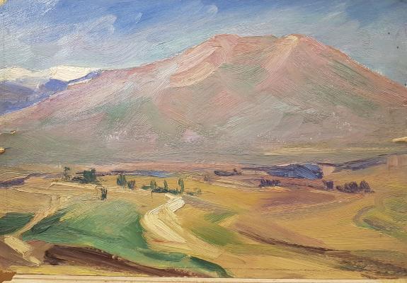 Захарьян Гурген Арутюнович. Горы
