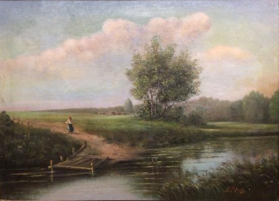 "Petrov V. ""Landscape."""