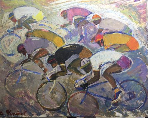 "Chistov Y. A. ""Spring sports. Cycling."""