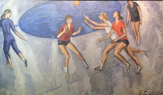 "Yegorova- Troitskaya M. A. ""Playing the ball."""