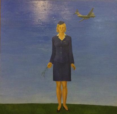 """Strulev Y. """"Stewardess Nadia Kurchenko"""""""