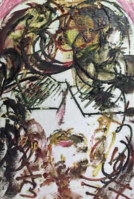 """Zverev A. T. """"Portrait of GN Mikhailova."""""""